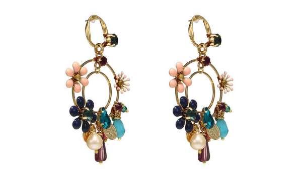 Ethnic Statement Earrings