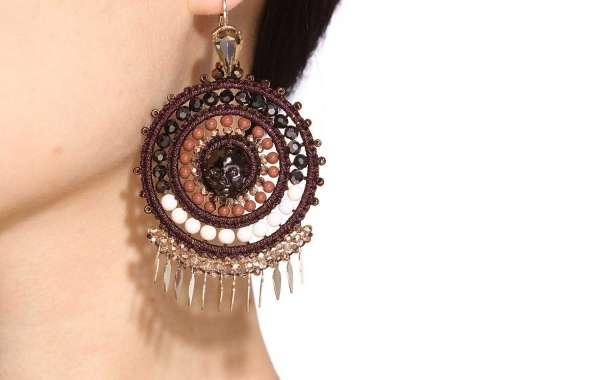 Bead Embroidered Bangle