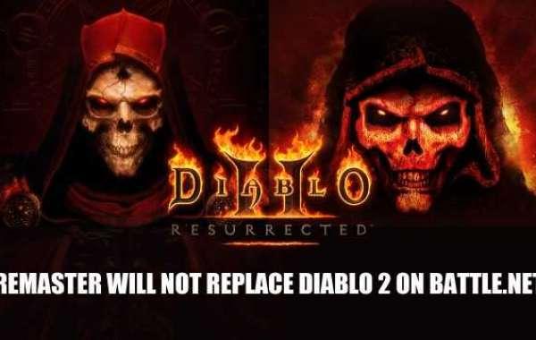 Diablo 2 Resurrected has just been declared at BlizzCon 2021