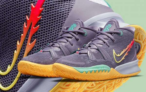 "CT4080-500 Nike Kyrie 7 ""Daybreak"" will be released on May 8th"